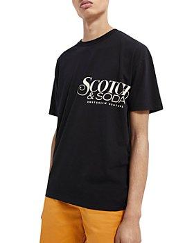Scotch & Soda - Organic Cotton Logo Graphic Tee