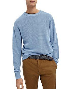 Scotch & Soda - Cotton Slim Fit Crewneck Sweater