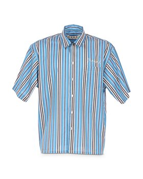 Marni - Striped Relaxed Fit Bowler Shirt