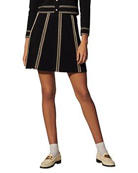 Sandro - Eudine A Line Mini Skirt