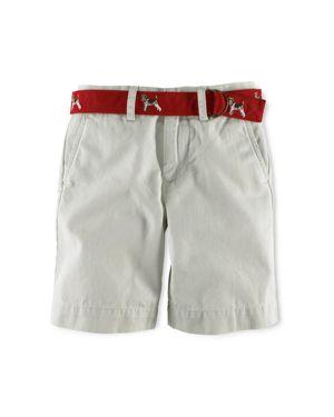 Ralph Lauren Childrenswear Boys' Vintage Chino Prospect Shorts - Little Kid thumbnail