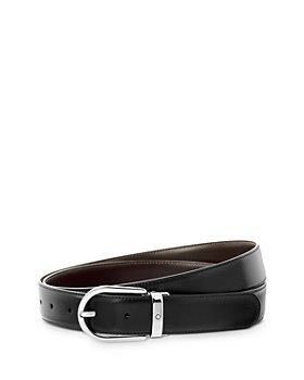Montblanc - Men's Reversible Horseshoe Buckle Belt