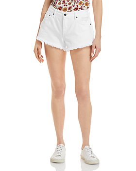 Pistola - Gigi Cut Off Denim Shorts in White
