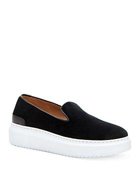 Aquatalia - Women's Lanie Slip On Platform Sneakers