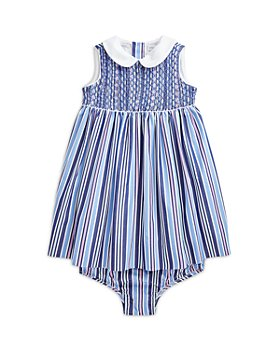 Ralph Lauren - Girls' Striped Smocked Dress - Baby