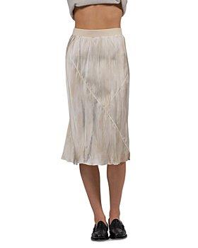 ATM Anthony Thomas Melillo - Silk Dip Dye Midi Skirt