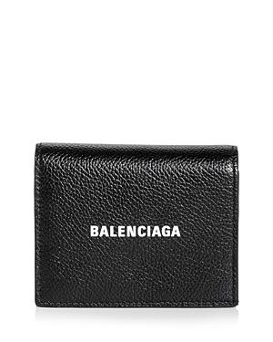 Balenciaga Essential Leather Mini Wallet