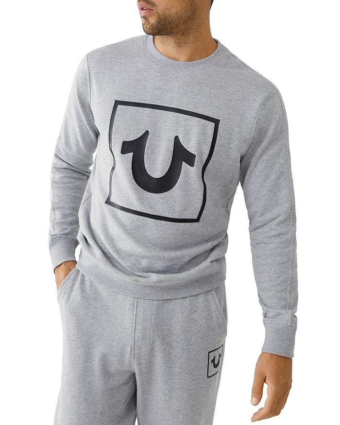 True Religion Sweatshirts HORSESHOE CREWNECK SWEATSHIRT