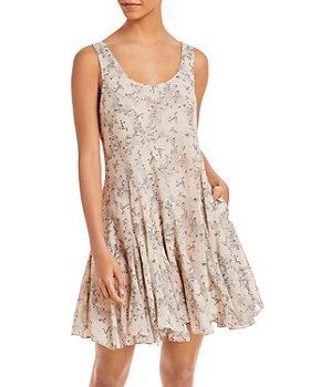 Rebecca Taylor - Scoop Neck Godet Dress