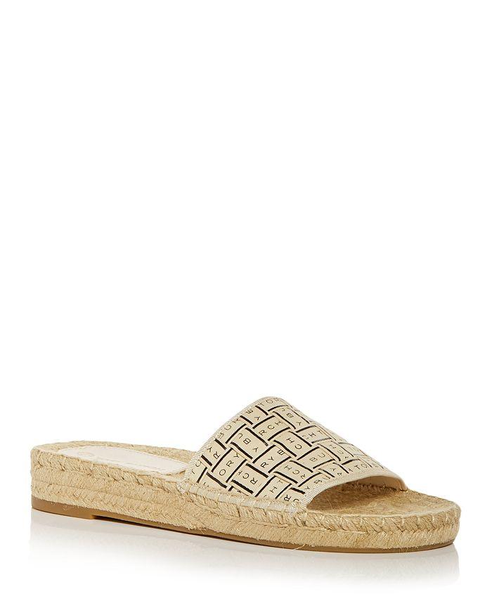 Tory Burch - Women's Tory Woven Espadrille Slide Sandals