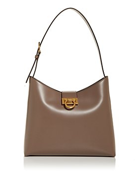 Salvatore Ferragamo - Trifolio Leather Hobo