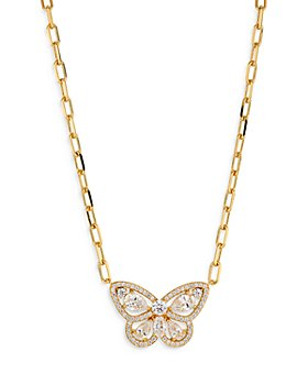 "Nadri - Vanessa Butterfly Pendant Necklace, 16"""