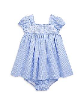 Ralph Lauren - Girls' Smocked Cotton Dress & Bloomers Set - Baby
