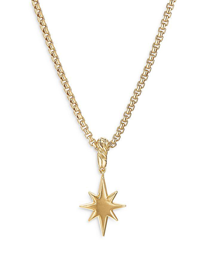 DAVID YURMAN Jewelrys 18K YELLOW GOLD NORTH STAR AMULET WITH DIAMONDS