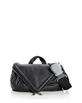 Bottega Veneta - Leather Messenger Belt Bag