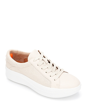 Women's Rosette Platform Sneakers
