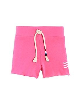 SOL ANGELES - Girls' Waves Cutoff Sweats Shorts - Little Kid, Big Kid