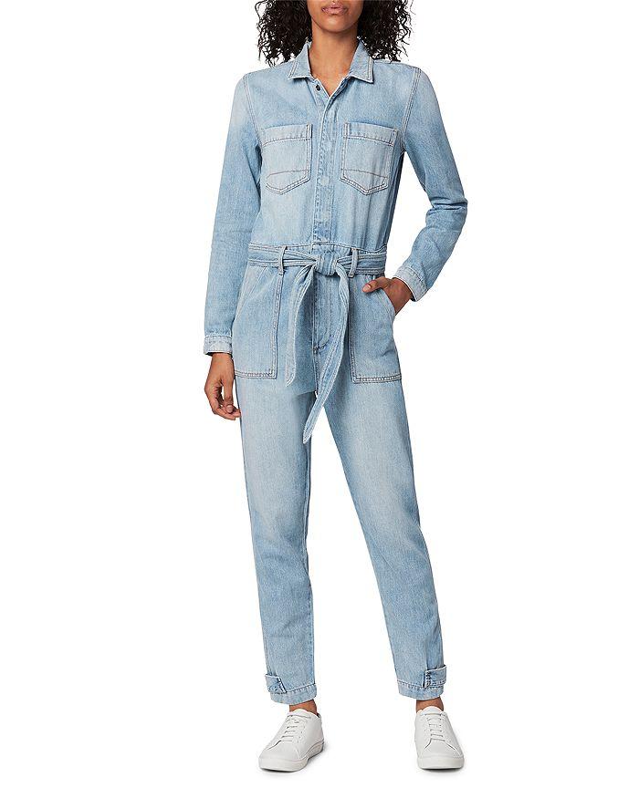 Joe's Jeans THE ALEXA DENIM JUMPSUIT IN TATRA