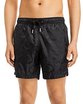 Moncler - Logo Jacquard Swim Shorts