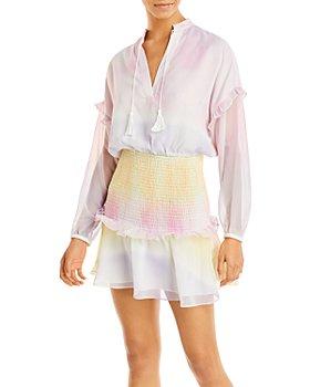 AQUA - Ombré Smocked Waist Dress - 100% Exclusive