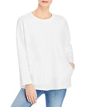 Eileen Fisher - Boxy Crew Sweatshirt