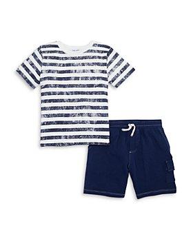 Splendid - Boys' Splash Striped Tee & Shorts Set - Little Kid