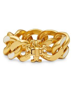 Tory Burch - Roxanne Inlay Curb Chain Bracelet