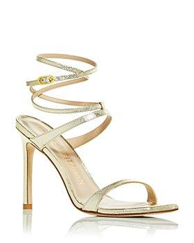 Stuart Weitzman - Women's Ellsie Wraparound Ankle Strap High Heel Sandals