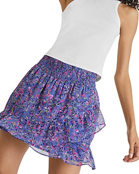 FRENCH CONNECTION - Flores Crinkle Mini Skirt