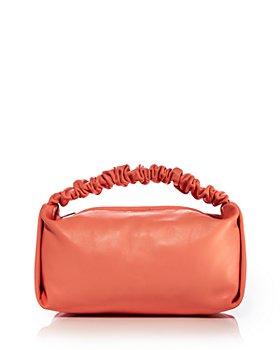 Alexander Wang - Scrunchie Small Leather Clutch Bag