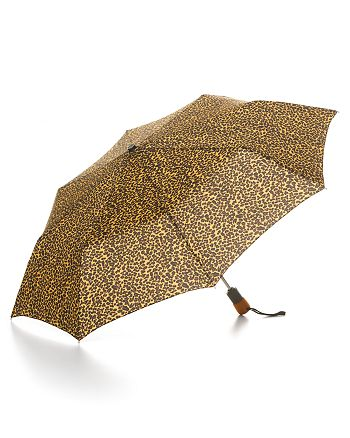 Bloomingdale's - Cheetah Print Umbrella - 100% Exclusive