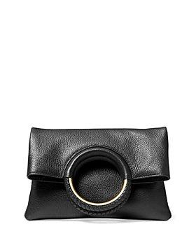 MICHAEL Michael Kors - Rosie Medium Leather Foldover Ring Crossbody