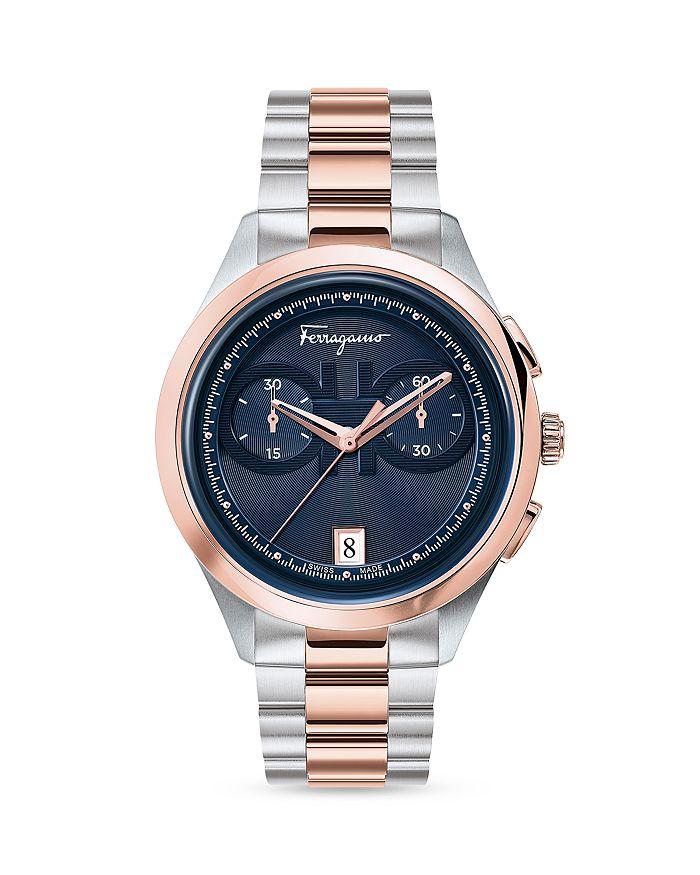 Salvatore Ferragamo - Racing Chronograph Watch, 42mm