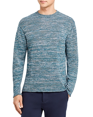 Linen Marled Regular Fit Crewneck Sweater