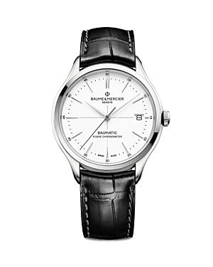 Baume & Mercier Clifton Baumatic Watch, 40mm