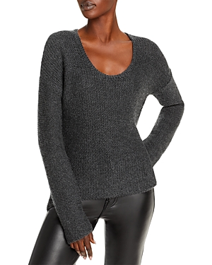 Helmut Lang Asymmetrical Hem Sweater