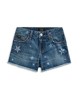 Ralph Lauren - Girls' Star Denim Shorts - Little Kid, Big Kid