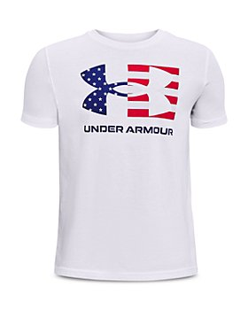 Under Armour - Boys' Freedom Cap Flag Tee - Big Kid