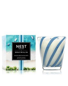 NEST Fragrances - Gray Malin Summer Collection - Ocean Mist & Sea Salt Classic Candle 8.1 oz.
