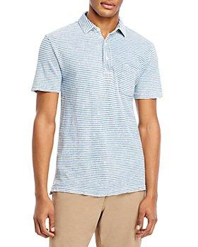 Faherty - Indigo Regular Fit Polo Shirt