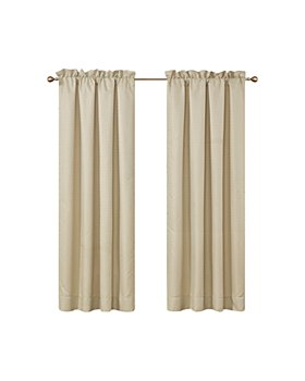 Waterford - Wynne Gold Curtain Panels, Pair