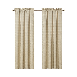 Waterford Wynne Gold Curtain Panels, Pair