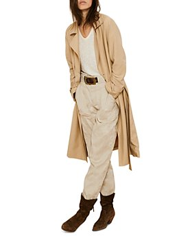ba&sh - Cricko Long Trench Coat
