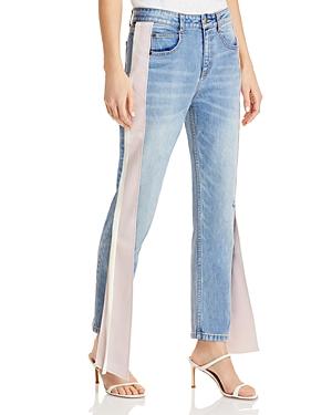 Carlton Distressed Jeans in Medium Wash