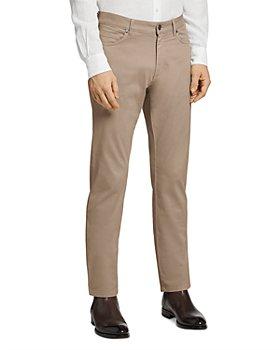 Zegna - Stretch Cotton 5-Pocket Slim Fit Jeans
