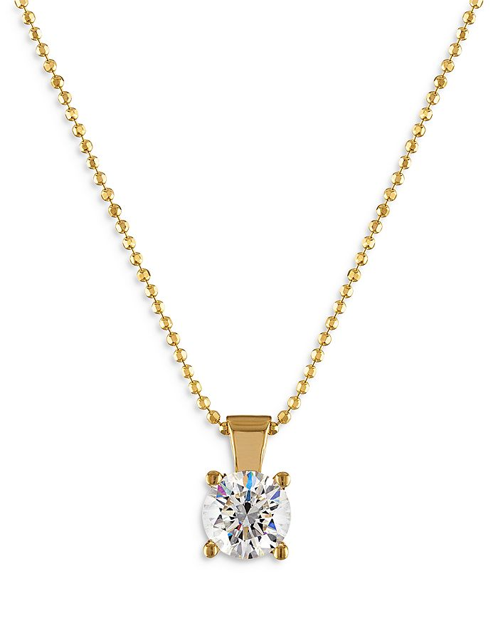 Bloomingdale's - Diamond Solitaire Pendant Necklace in 18K Yellow Gold, 0.20-1.0 ct. t.w. - 100% Exclusive