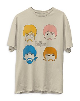 Junk Food - The Beatles Faces Tee