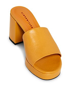 SIMON MILLER - Women's Stopper Heel Platform Slide Sandals