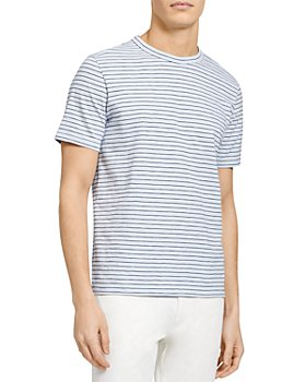 Theory - Essential Pencil Striped Tee