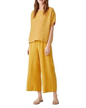 Eileen Fisher - Organic Linen Top & Pants